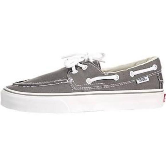 Del Zapato Del Grey Grey Del Barco Vans Barco Zapato Vans Barco Vans Zapato 3R54AjqL